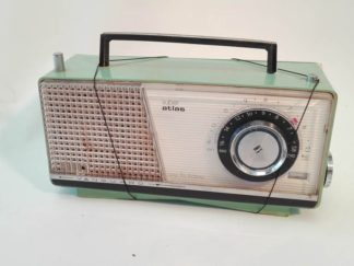Radio antigua verde Audso002