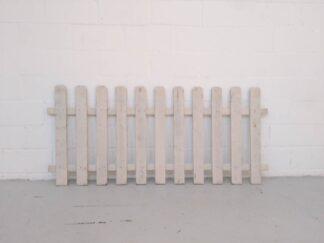 Valla blanca de madera mueot007