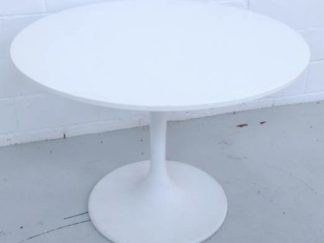 Mesa tipo Tulip blanca mesco001