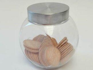 Tarro galletas cristal grande cocta008
