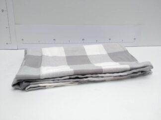 Mantel mesa cuadros gris cocte007