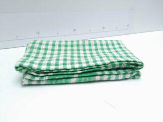 Mantel mesa cuadros verde cocte012