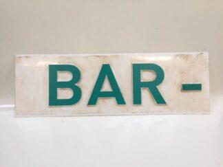 Cartelería bar carba019