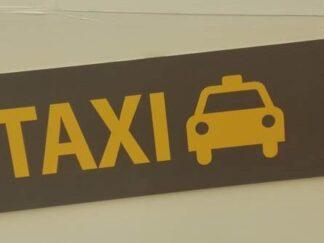 Cartelería taxi aeropuerto carva021