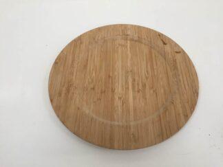 Plato de madera cocac046