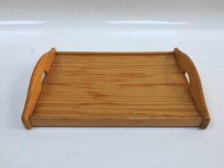 Bandeja de madera con asas cocac065