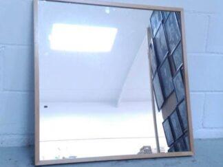 Espejo cuadrado madera atres002