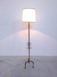 Lámpara antigua de de pie pie Lámpara sCQdthr