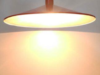 Lámpara techo juvenil roja ilute010