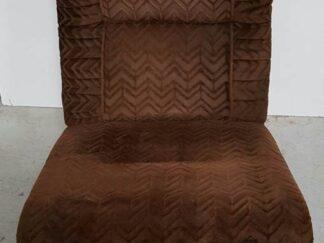 Butaca marrón Asibu008