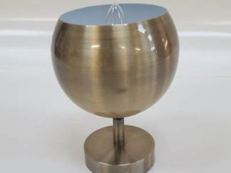 Aplique bola cobre iluap025