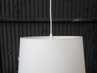 Lámpara techo tulipa blanca ilute021