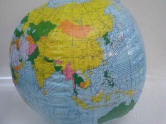 Balón playa mapamundi extpl036