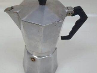 Cafetera italiana cromada