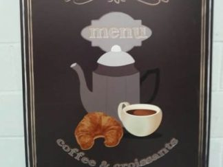 Cartel cafetería 80cm