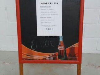 Pizarra CocaCola