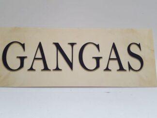 Cartel Gangas