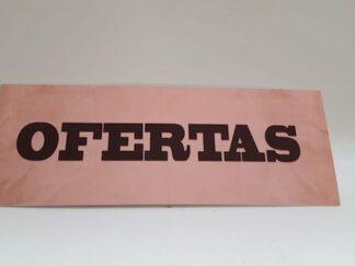 Cartel Ofertas