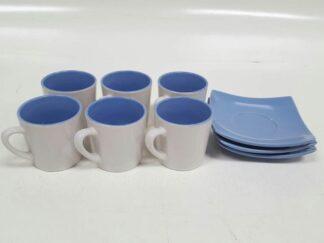 Juego café azules