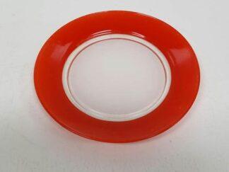 Platos rojos x3
