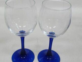 Copas agua pie azul pequeña x12