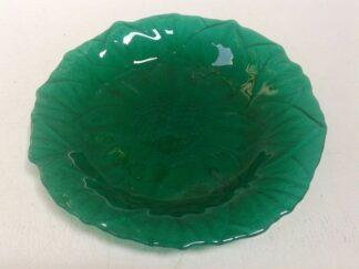 Fuente cristal verde
