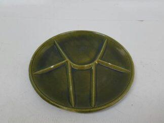 Plato organizador verde X3