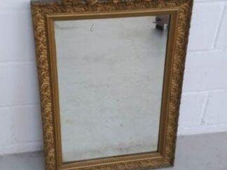Espejo marco dorado barroco
