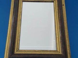Espejo marco madera mediano