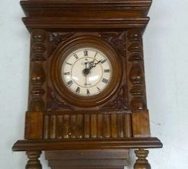 Reloj mesa madera barroco