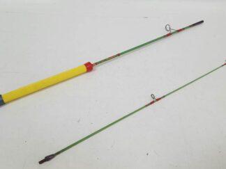 Caña pesca puño amarillo