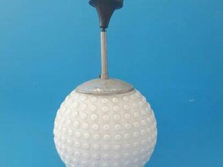 Lampara techo esfera blanca granulada