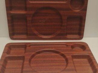 Bandejas madera organizador