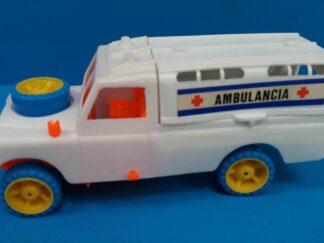 Coche ambulancia todoterreno
