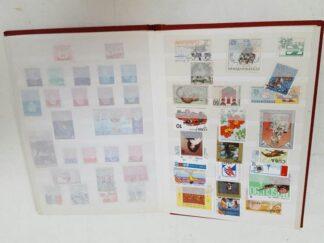 Libro colección sellos