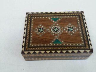 Caja madera motivos nacar