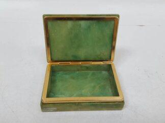 Caja nacar verde